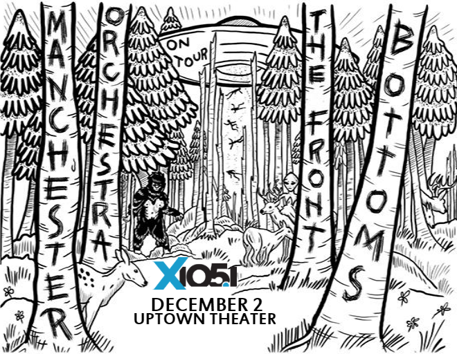 X1051 Welcomes // Manchester Orchestra & Front Bottoms