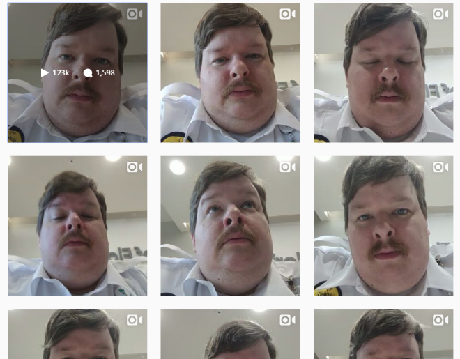 Security Guard Fired For Getting Millions Of Views on Instagram
