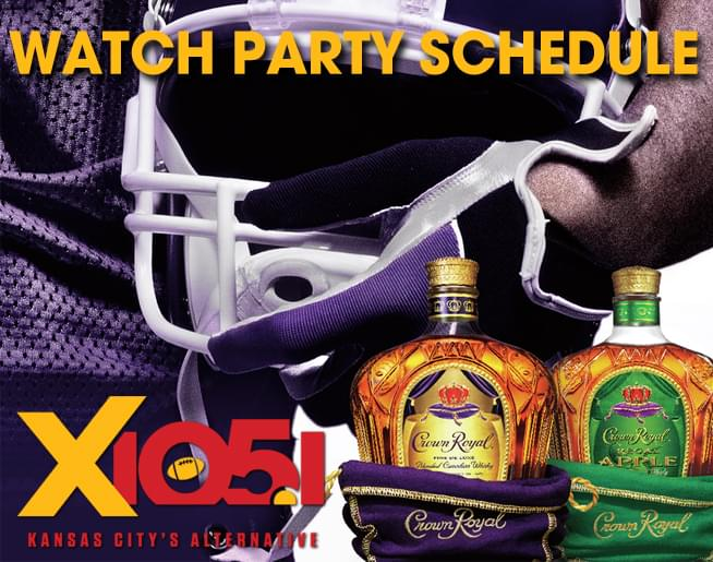 Crown Royal Watch Parties