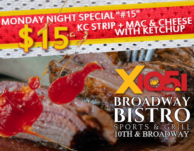 Steak + Ketchup Special // Monday @ Broadway Bistro