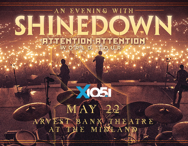 X1051 Welcomes // Shinedown @ The Midland