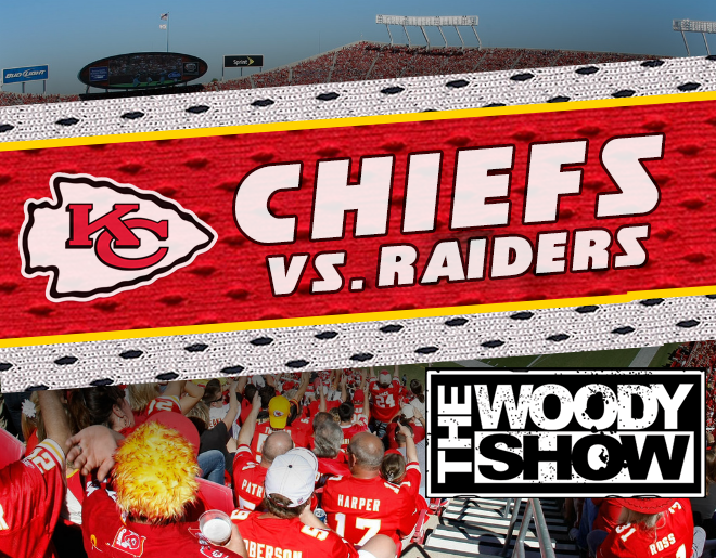 Chiefs vs. Raiders // Win With The Woody Show