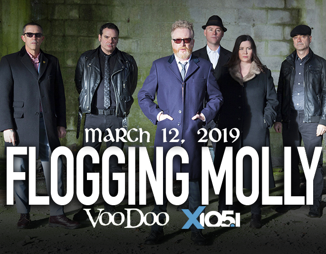 X1051 Welcomes // Flogging Molly @ VooDoo