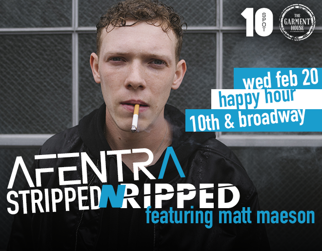 Afentra Stripped N Ripped // feat Matt Maeson