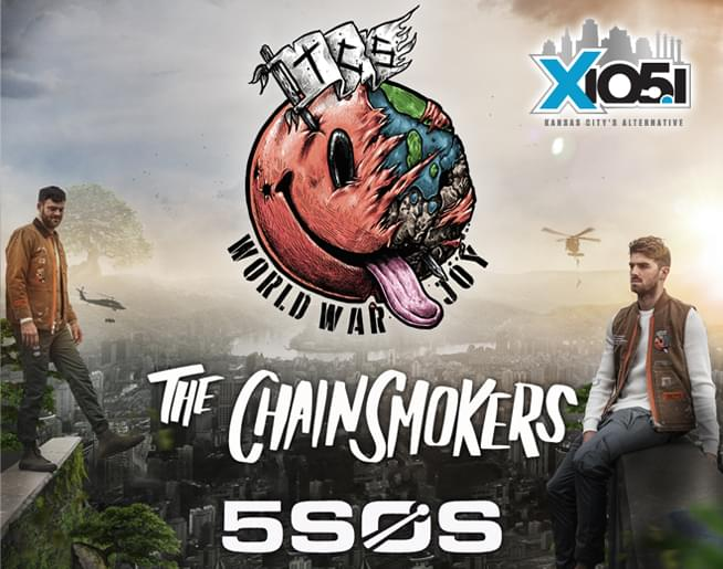 X1051 Welcomes // The Chainsmokers @ Sprint Center