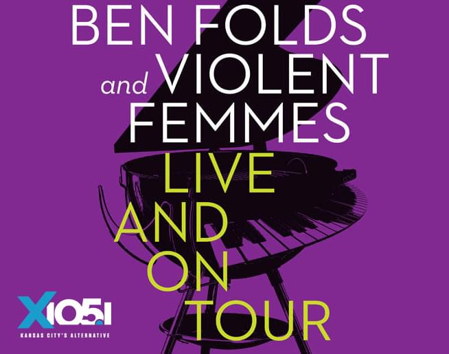 Ben Folds & Violent Femmes // 8.16.19 @ Starlight Theatre