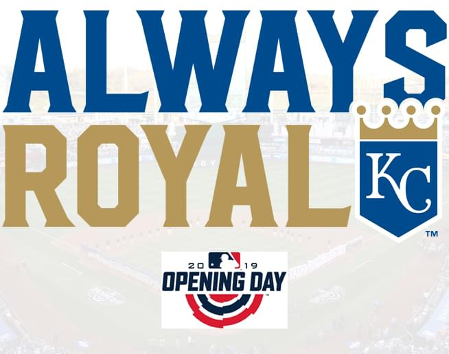 Win tickets to Royals Opening Day // 3.28.19 @ The K