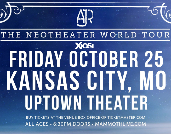 AJR // 10.25.19 @ Uptown Theater