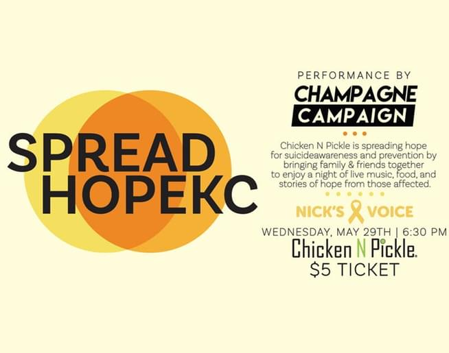 Spread Hope KC at Chicken N Pickle