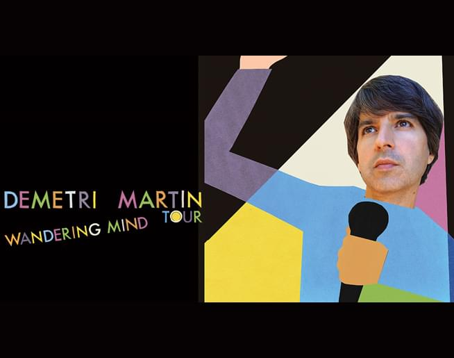 Demetri Martin // 11.16.19 @ The Uptown