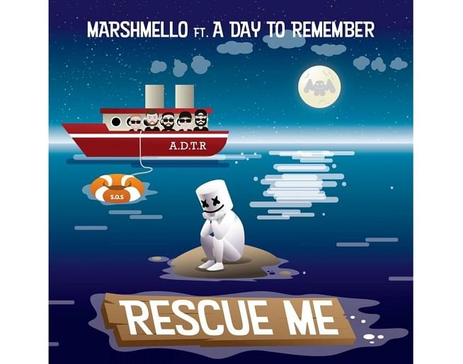 """Hear Marshmello Team Up With A Day To Remember On """"Rescue Me"""""""