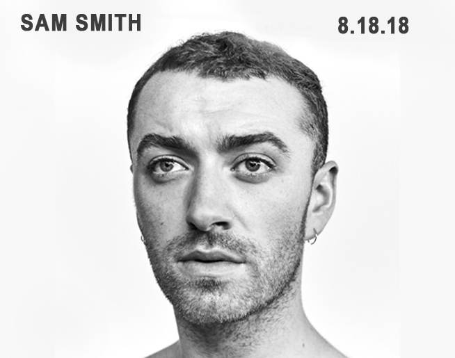 Sam Smith LIVE at Sprint Center on August 18th