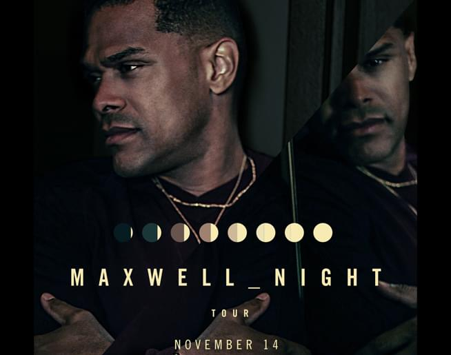 Maxwell LIVE at The Midland on November 14th