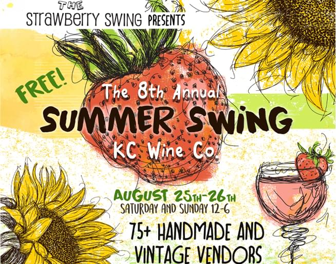 FREE Shopping at the Strawberry Swing Indie Craft Fair!