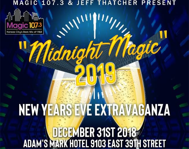Magic 107.3 NYE Tickets on-sale now!