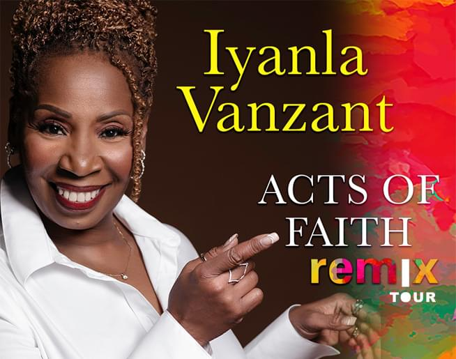 Iyanla Vanzant – August 23rd at the Kauffman Center
