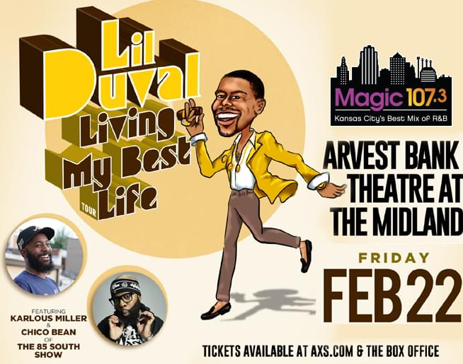 Lil Duval Living My Best Life Tour
