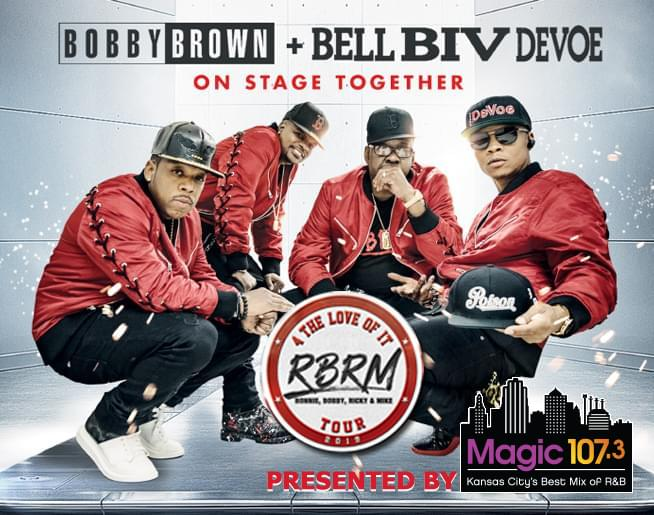 RBRM LIVE at Starlight Theatre on May 9th