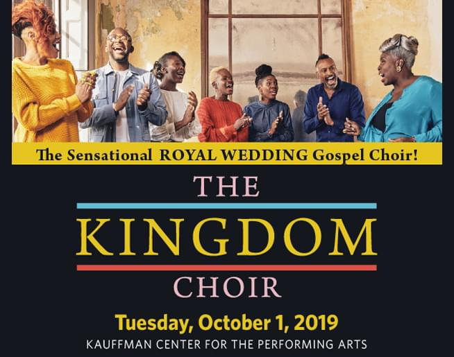 The Kingdom Choir at the Kauffman Center for Performing Arts – Oct. 1st