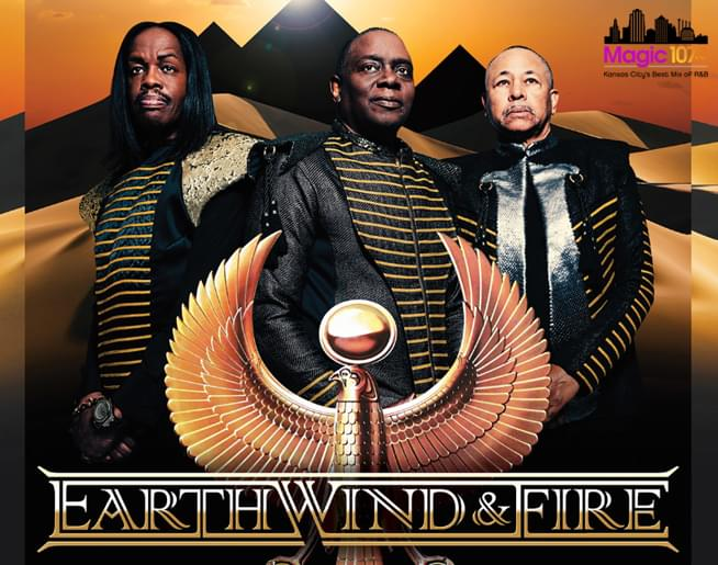Earth, Wind & Fire at Starlight Theatre on July 20th