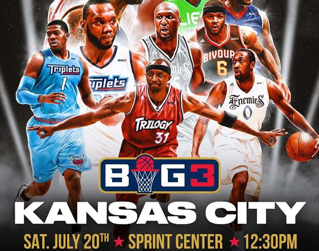 The Big 3 at Sprint Center on July 20
