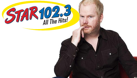 Your Concert Station has your tickets to see comedian JIM GAFFIGAN for the Summer of STAR 102.3.