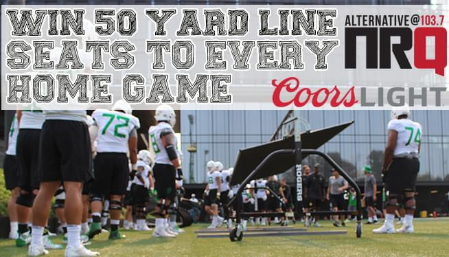 Win 50 Yard Line Tickets To Every Oregon Home Game