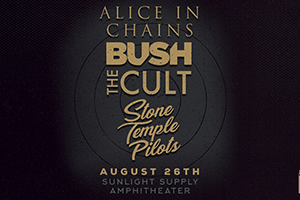 ALICE IN CHAINS with STONE TEMPLE PILOTS | BUSH | & THE CULT