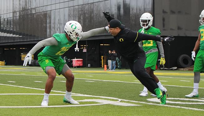 Oregon Football Spring Camp Report 3-9-18