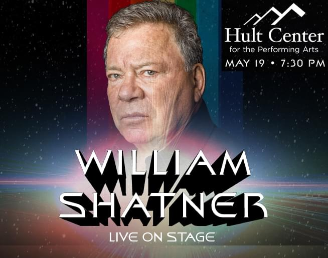 WILLIAM SHATNER AT THE HULT CENTER