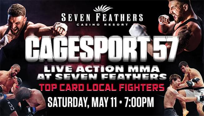 CAGESPORT 57 AT SEVEN FEATHERS CASINO & RESORT