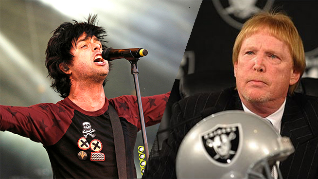 Green Day Is Not Thrilled by Raiders Relocation