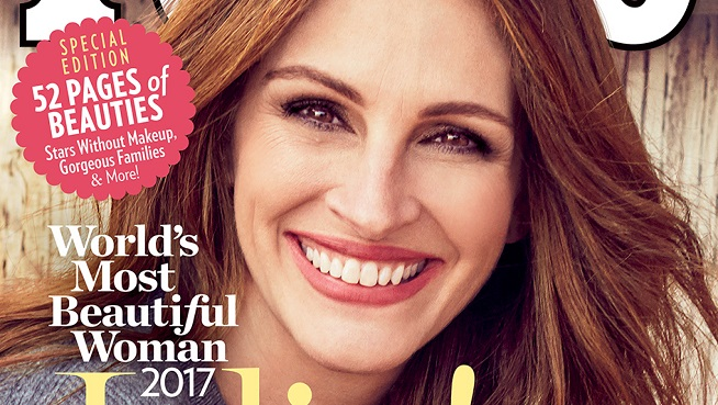Celebrity Type Stuff: Julia Roberts wins People Magazine's Most Beautiful Person for the 5th time