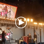 Dave Grohl's eight-year-old daughter drummed for Foo Fighters