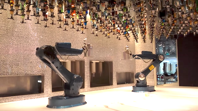 Bytes, Bars, and Bands: Robot Bars