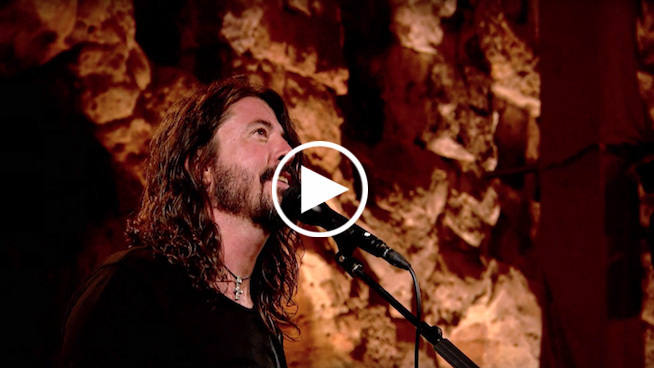 Foo Fighters perform at the Acropolis in 'Landmarks Live' Trailer