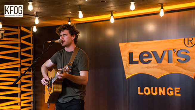 """KFOG Private Concert: Vance Joy – """"Fire and the Flood"""""""