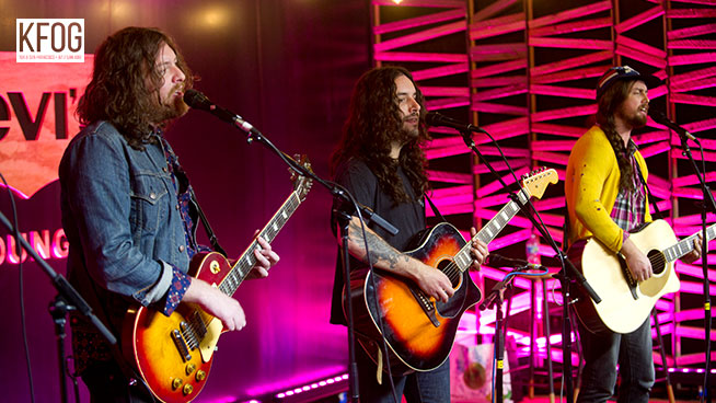 "KFOG Private Concert: J Roddy Walston and the Business – ""The Wanting"""