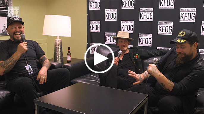 Nathaniel Rateliff and one of the Night Sweats sit down with No Name