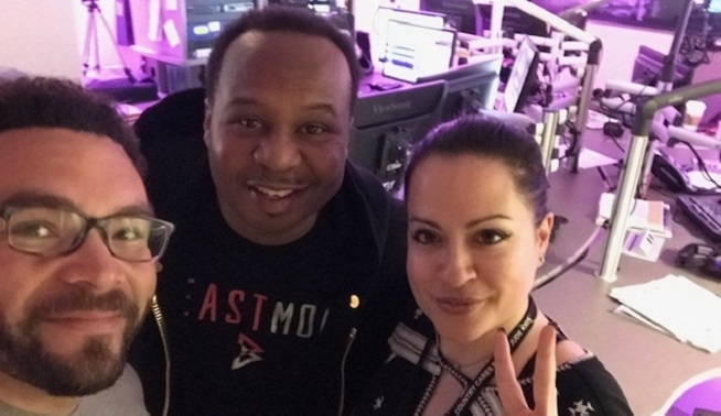 Mornings on KFOG: Alicia and Arthur interview Roy Wood Jr. from The Daily Show
