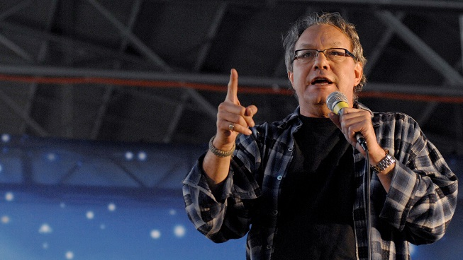 Mornings on KFOG: Alicia and Arthur talk to Lewis Black about the government shutdown, Woody Allen, and more