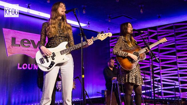 "KFOG Private Concert: First Aid Kit – ""It's A Shame"""