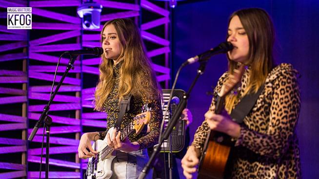 "KFOG Private Concert: First Aid Kit – ""Fireworks"""