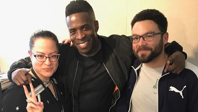 Alicia and Arthur talk Black Panther with Comedian Godfrey