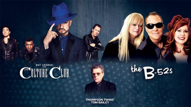 September 18: Boy George & Culture Club and The B52's