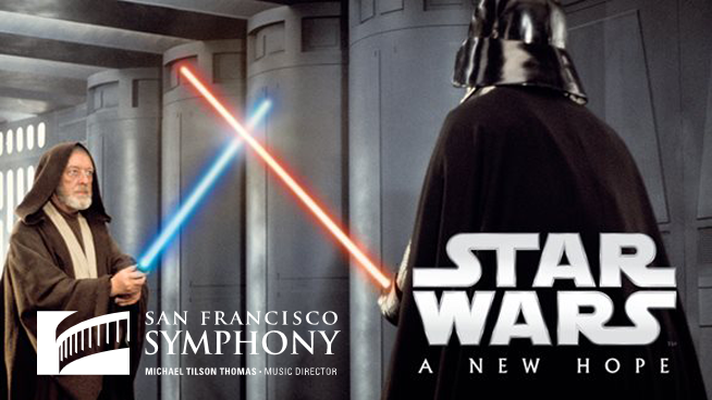 """July 18 – July 21: """"Star Wars: A New Hope"""" with the San Francisco Symphony"""