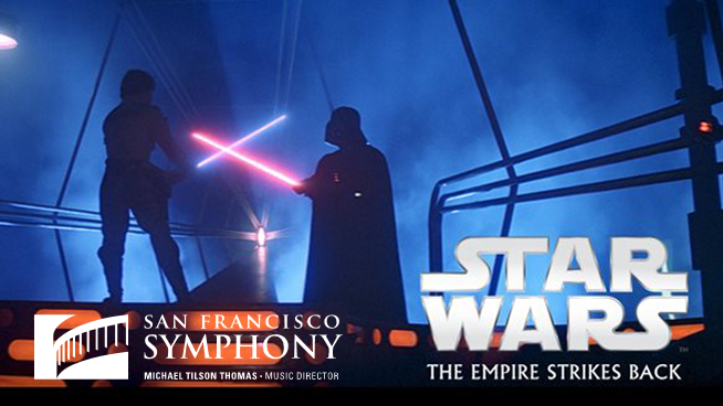 """July 26 – July 28: """"Star Wars: The Empire Strikes Back"""" With The San Francisco Symphony"""
