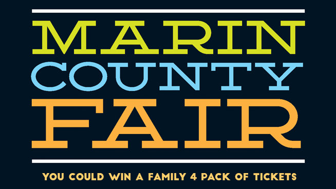 Try To Win Tickets To The Marin County Fair!