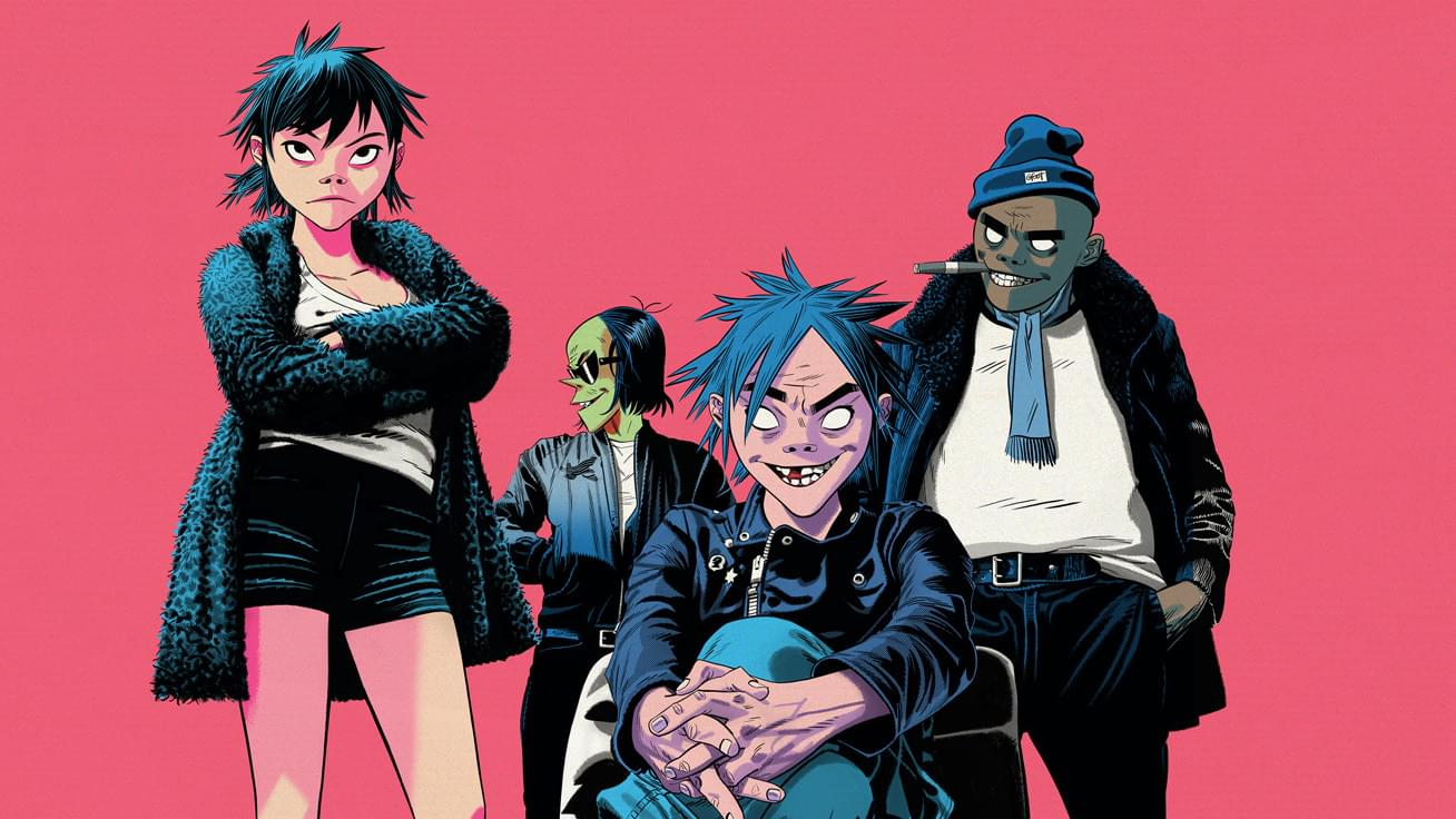 "Gorillaz debut new song ""Fire Flies"" off of their upcoming album The Now Now"