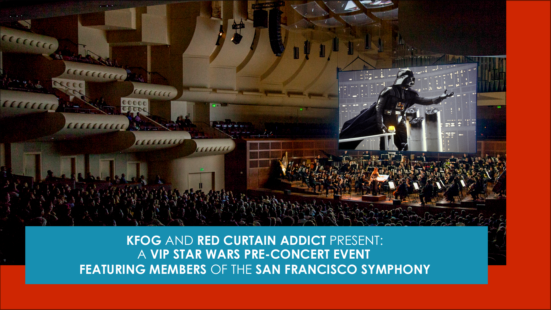 "Experience A VIP ""Star Wars"" Event With Members Of The San Francisco Symphony"